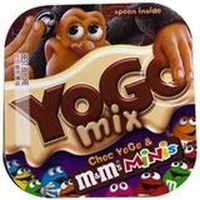 Yogo Chocolate With Mini M&ms Dessert