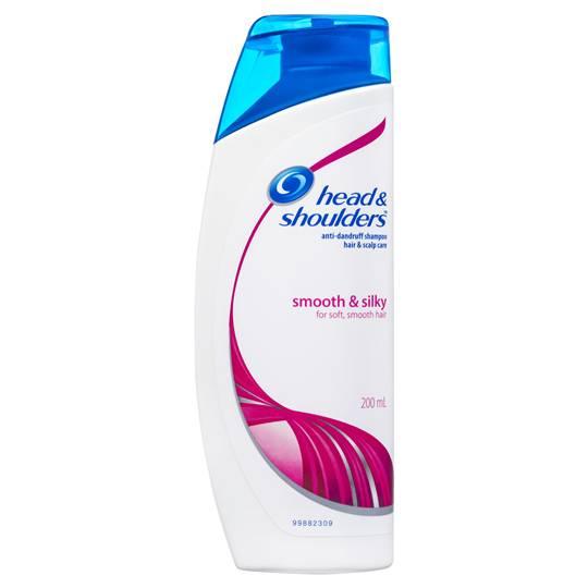 Head & Shoulders Smooth & Silky Scalp Care Anti Dandruff Shampoo