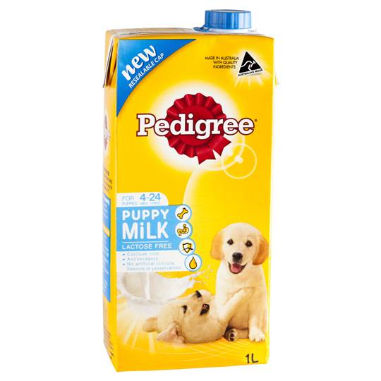 Pedigree Puppy Food Milk