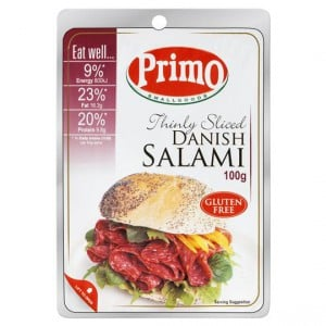 Primo Salami Danish Traditional Thin Sliced