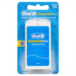 Oral-b Dental Floss Essential Waxed