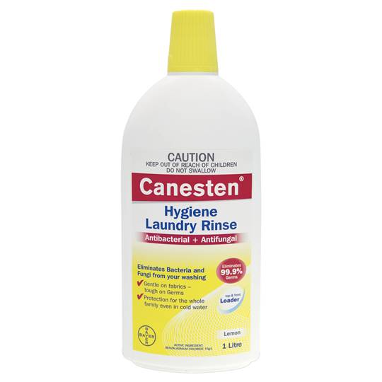 Canesten Inwash & Soaker Lemon Hygiene Laundry Rinse