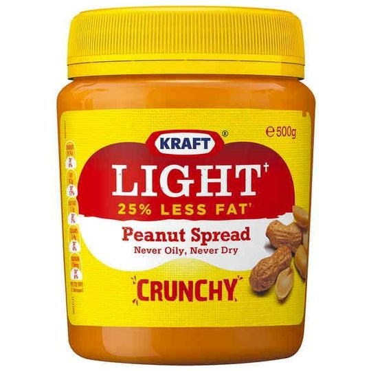 Kraft Crunchy Light Peanut Butter