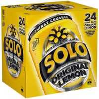 Schweppes Solo Lemon Can