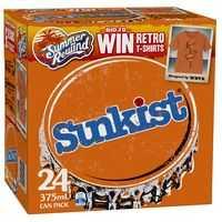 Sunkist Orange Can