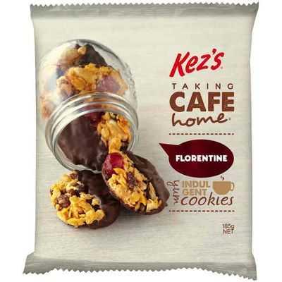 Kez's Chocolate Florentine Gluten Free