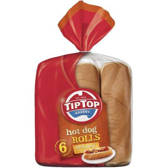 Tip Top Hot Dog Rolls