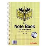 Spirax Notebook A5