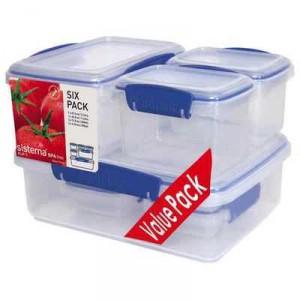 Sistema Klip It Plasticware Pack