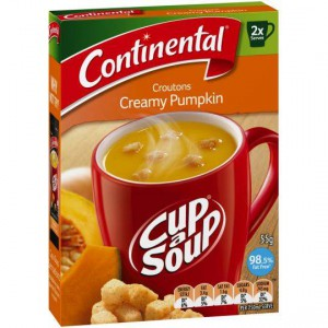Continental Cup A Soup Croutons Creamy Pupkin