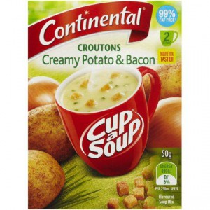 Continental Cup A Soup Croutons Potato & Bacon