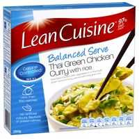 Lean Cuisine Balanced Serve Thai Green Chicken Curry