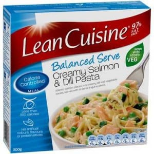 Lean Cuisine Bowl Salmon & Dill Linguine
