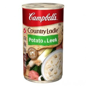 Campbell's Country Ladle Canned Soup Potato & Leek