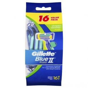 Gillette Blue Ii Ultragrip Pivot Disposable Razor