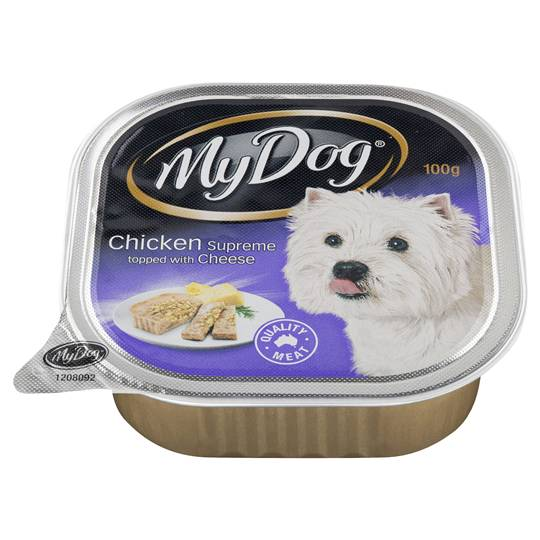 My Dog Adult Dog Food Chicken Supreme With Cheese