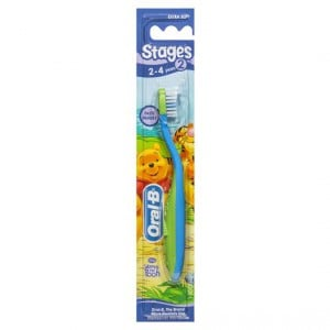 Oral-b Stage 2 Winnie The Pooh Manual Toothbrush 2-4 Years