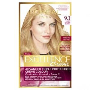 L'oreal Excellence Crème 9.3 Light Golden Blonde