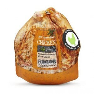 Australian Rspca Approved Fresh Whole Chicken Seasoned & Marinated