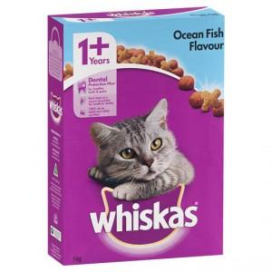 Whiskas Adult Cat Food Ocean Fish