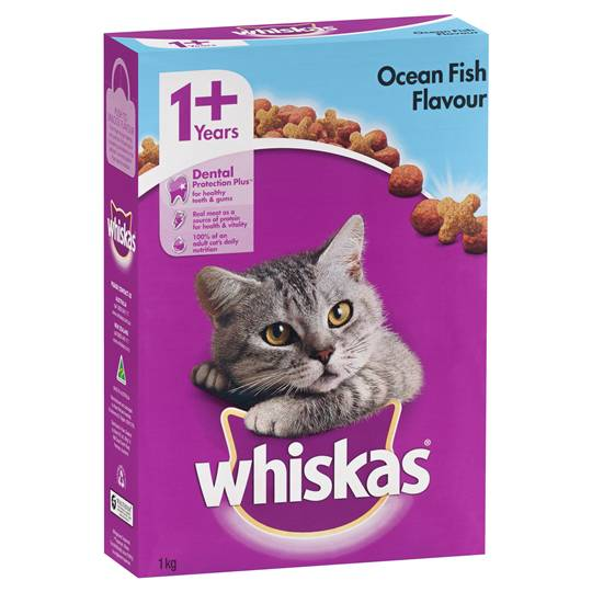 Whiskas Adult Cat Food Ocean Fish