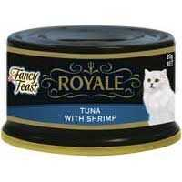 Fancy Feast Royale Adult Cat Food Yellow Fin Tuna & Whole Shrimp