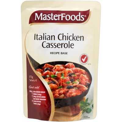Masterfoods Casserole Italian Chicken