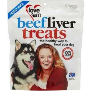 Love'em Treat Beef Liver