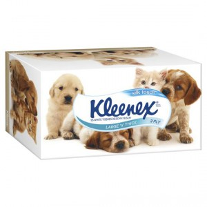 Kleenex Facial Tissues Large & Thick Silk Touch 3ply