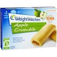 Weight Watchers Apple Crumble Bars
