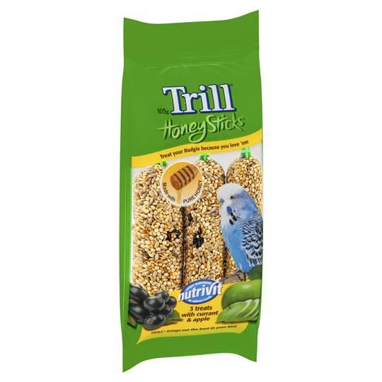 Trill Bird Honey Stick Variety Budgerigar