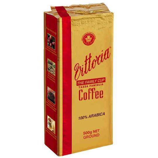 Vittoria Family Cup Ground Coffee