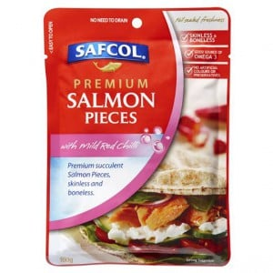 Safcol Salmon Pouch Mild Red Chili