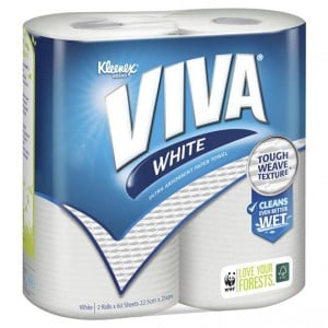 Viva Paper Towel White
