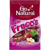 Go Natural Bars Snacks Full O Berry