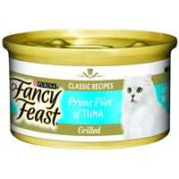Fancy Feast Adult Cat Food Grilled Tuna Prime Fillet