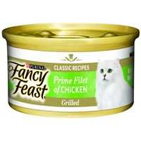 Fancy Feast Adult Cat Food Grilled Chicken Prime Fillet