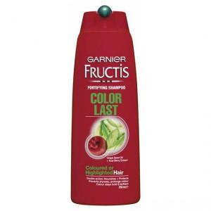 Garnier Fructis Shampoo Colour Last Highlighted