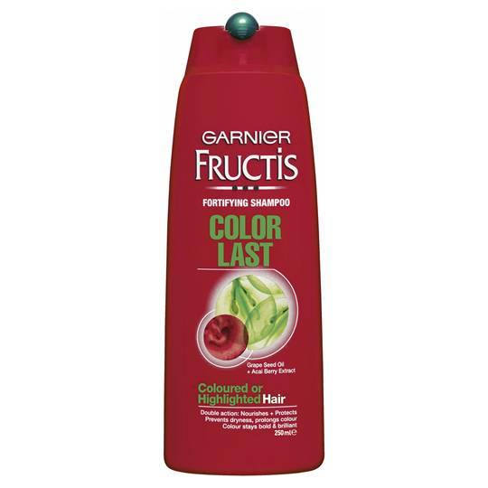 Garnier Fructis Shampoo Colour Last Highlighted