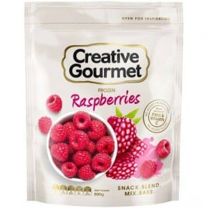 Creative Gourmet Frozen Fruit Raspberries
