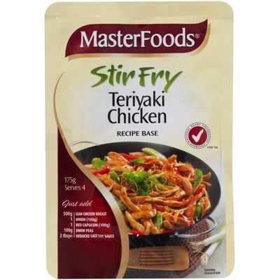 Masterfoods Stir Fry Sauce Teriyaki Chicken