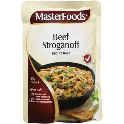 Masterfoods Recipe Base Beef Stroganoff