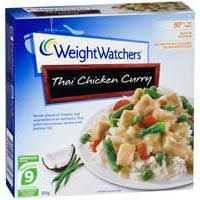 Weight Watchers Bowl Chicken Thai Curry