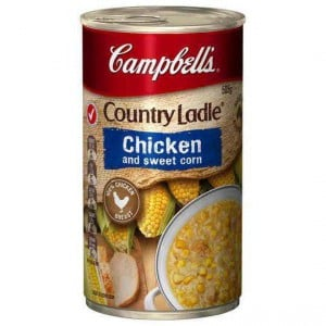 Campbell's Country Ladle Canned Soup Chicken & Sweet Corn