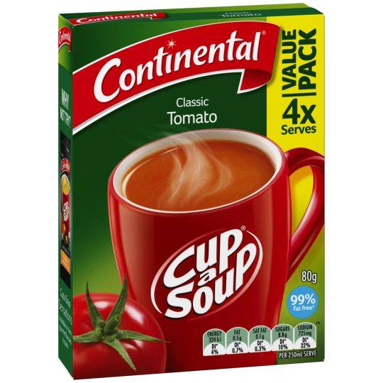Continental Cup A Soup Tomato