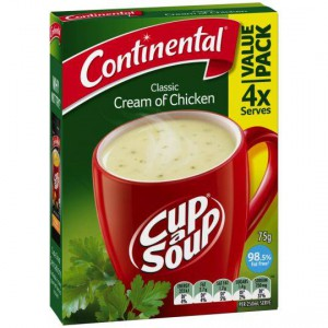 Continental Cup A Soup Cream Of Chicken