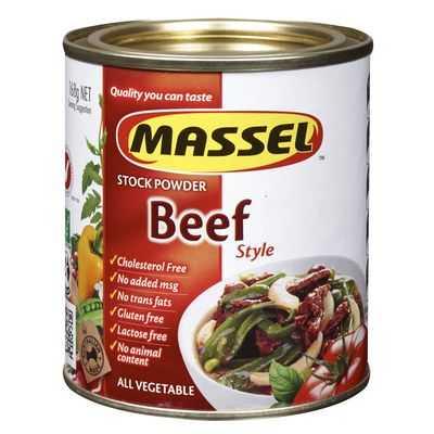 Massel Stock Powder Beef