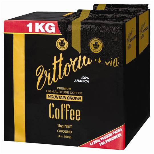 Vittoria Mountain Grown Ground Coffee