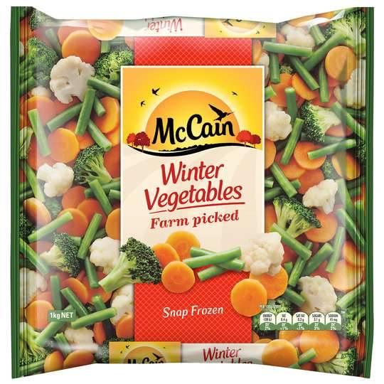 Mccain Winter Mixed Vegetables