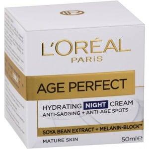 L'oreal Age Perfect Face Cream At Night
